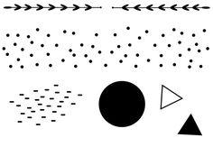 Vorbestellung: Muster--klare Stempel Set A7