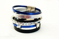 multi strand leather cord bracelets