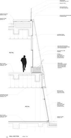 Image 12 of 46 from gallery of In Progress: Sliced Porosity Block / Steven Holl Architects. wall section