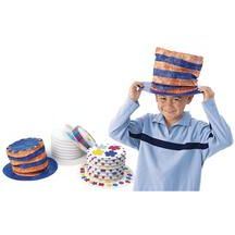 paper top hats to decorate