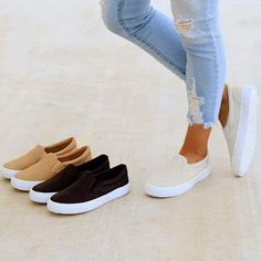 Cutelily Slip On Running Flat Sneakers (Ship in 24 hours) Cutelily Bowknot Design Peep Toe Flache Sandalen Sneakers Mode, Sneakers For Sale, Sneakers Fashion, Fashion Shoes, Women's Shoes Sneakers, Vans Platform Sneakers, Wedge Sneakers Style, Sneakers Workout, Converse Fashion