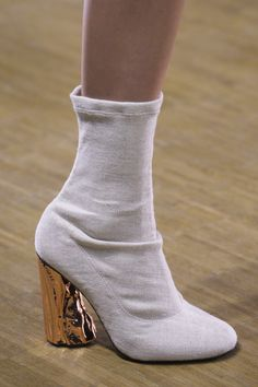 girlchloe: pepahh: parisfashionhouse: Acne Studios Fall 2015 I think I just fell inlove Oh my god how does so much beauty exist Bootie Boots, Shoe Boots, Ankle Boots, Shoe Bag, Crazy Shoes, Me Too Shoes, Fashion Gone Rouge, Zapatos Shoes, Peep Toe