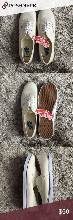 Off-White Vans Brand new size 10.5 Vans. Comes with original box. Vans Shoes Sneakers
