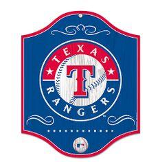 Texas Rangers Wooden Sign - MLB.com Shop