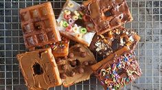 YUM: Check Out This Super Easy DIY Recipe That Combines Waffles and Donuts