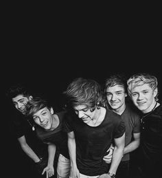 I love this picture of our boys so much <3 Zayn Malik, Louis Tomlinson, Harry Styles, Liam Payne and Niall Horan <3 One Direction