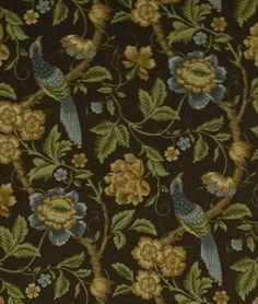Robert Allen @ Home Peony Call Tourmaline Fabric - $14.1 | onlinefabricstore.net