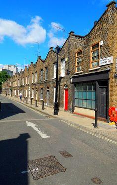 Roupell Street, Waterloo, London, SE1