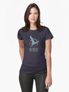 Bird Watching Womens T-Shirt Front