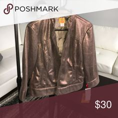 Ruby Road Bronze Bomber Jacket Ruby Road Bronze Bomber Jacket Ruby Road Jackets & Coats