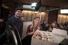 On set (and with cupcakes!) Click to discover Hilary Duff in the latest episodes of Younger on TV Land.