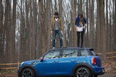 MINI & Wool and the Gang get their kicks in MINI Countryman True Blue.