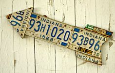 Robb Restyle: Repurposed License Plates