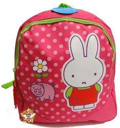 MIFFY NIJNTJE Piggy Rucksack Tasche Rugtas Schule 2-4 Jahre Vorschule SWEET NEU
