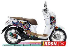 40 Gambar Honda Scoopy Terbaik Di 2020 Motor Stiker Seni Grafis