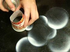 Spray Paint Art How-To #2: Bubbles - YouTube