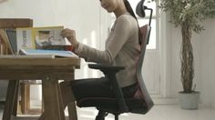 There is a reason that I am happy as a woman The chair that thinks and cares me. The chair that makes me happy, DUOLADY