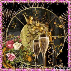 New Year's Eve - Trendy Decor Styles 2019 Happy New Year Pictures, Happy New Year Gif, Happy New Year Message, Happy New Year Cards, Happy New Year Greetings, New Year Greeting Cards, New Year Wishes, Merry Christmas And Happy New Year, New Years Eve