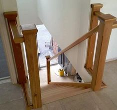Bespoke Staircase by Merrin Joinery. Bespoke Staircases, Wooden Staircases, Love Your Home, Modern Glass, Joinery, Stairs, Home Decor, Ladders