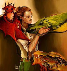Charlie Weasley by nastjastark on DeviantArt