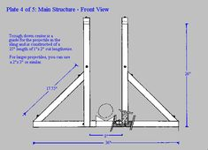 treb4.gif (617×447) Wood Shop Projects, Projects To Try, Weapon Of Mass Destruction, Medieval Weapons, Free Blog, War Machine, Scouting, Warfare, Project Ideas