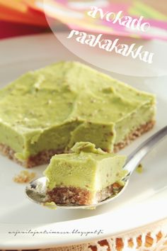 Avokado raakakakku About Me Blog, Pudding, Desserts, Food, Tailgate Desserts, Deserts, Essen, Puddings, Dessert