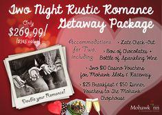 And if you're feeling extra romantic..go for the 2 night package deal!   #MiltonON #HaltonON #Christmas #GiftIdeas #Romance #Getaway