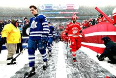 2014 Winter Classic, Detroit Red Wings vs. Toronto Maple Leafs