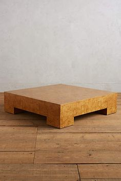Darby Coffee Table, Large - anthropologie.com 48x48 $1898