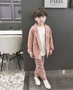 Cute Asian Babies, Korean Babies, Asian Kids, Cute Babies, Cute Kids, Stylish Little Girls, Little Boy Fashion, Kids Fashion Boy, Cute Baby Boy