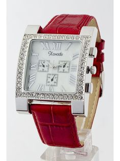 Woman's Square Faced Watch $15.00