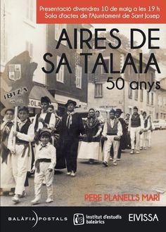 Diseño de cartel promocional libro Aires de Sa Talaia.