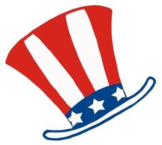American Flag Hat Clipart