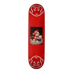 Good Monkey Skateboard - Monkey's are symbols of power and grace curiosity and energy. Gorilla Funny, Baby Monkey Pet, Custom Skateboards, Skateboard Decks, Activity Games, Baby Shower Games, Gifts For Dad, Outdoor Gear, Art For Kids