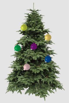 Kerstballen met andere voorbeelden van eigen pms kleuren
