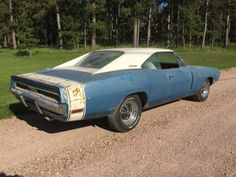 This 1970 Dodge Charger R/T is a factory 440/4-speed car that's said to be a good driver in need of cosmetics and non-structural rust repair. Though now fitted with a non-original '71 440, the car retains its factory 4-speed and Dana rear end and a correctly date-coded 440 in need of rebuild is included in the sale.Find ithere on eBayin Rapid City, South Dakota with reserve not met.