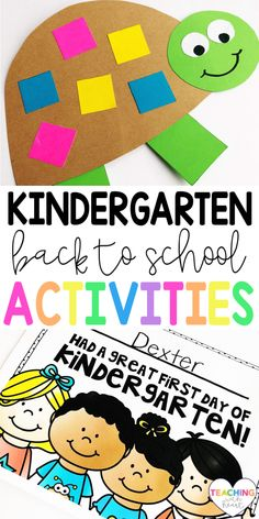 Looking for back to school activities for kindergarten? This pack has over 13 fun, engaging, and EDITABLE back to school activities perfect for kindergarten classrooms at the beginning of the school year! These activities focus on skills that are important at the beginning of the year: fine motor skills, classroom management, friendship, letter identification, and name recognition! Classroom Games, Special Education Classroom, Elementary Education, School Classroom, Classroom Management, Classroom Ideas, Back To School Hacks, Back To School Activities, Activities For Kids