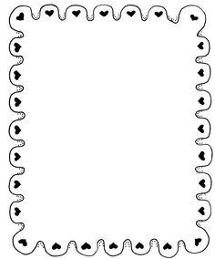 Heart Scalloped Border | Mormon Share - ClipArt Best - ClipArt Best