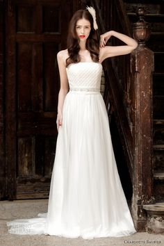 Charlotte Balbier 2014 Wedding Dresses — A Decade of Style Bridal Collection | Wedding Inspirasi
