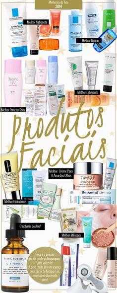 Os melhores produtos faciais de 2014!