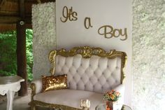 Baby Showers @ Em'ganwini Baby Showers, Ems, Accent Chairs, Furniture, Home Decor, Upholstered Chairs, Decoration Home, Room Decor, Baby Shower
