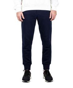 MONCLER Moncler Men'S Gamme Bleu Cotton Ribbed Sweatpants Blue'. #moncler #cloth #pants