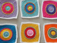 graphic granny squares