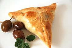 Fatayer bi Sabanekh... simply put, this is a spinach pastry seasoned with onion, lemon, and sumac. A meat or cheese variety exists that I will pin shortly, but the spinach is my favorite. Dip them in plain yogurt and you have a healthy meal that is different and easy to make. Instead of making the dough from scratch, you could use Rhodes frozen rolls and simply make the stuffing from scratch. It will taste just as good!