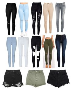 Designer Clothes, Shoes & Bags for Women Alexander Wang, River Island, Rebecca Minkoff, Women's Clothing, Swag, Topshop, Skinny Jeans, Shoe Bag, Clothes For Women