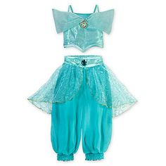 Jasmine Costume for Girls - Can you say flower girl power? [please do not use this if you are getting married in church I found another one for that :o) - A whole new girl - This detailed Jasmine costume features a jewel, sequins and cameo - Jasmine Costume for Girls   Costumes & Costume Accessories   Disney Store