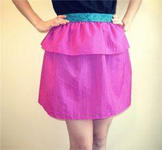 DIY Ruffle : DIY Ruffled Peplum   : DIY Clothes DIY Refashion