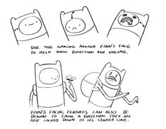 How to Draw Adventure Time...oh my glob!