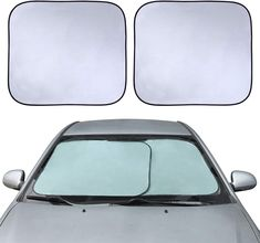 San X Rilakkuma Windshield with Friends Front Window Sun Shade Auto Accessories