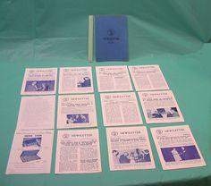 1960's Commemorative Newsletters De Femmes Celebres Medals Coins Sculptors 3 VTG